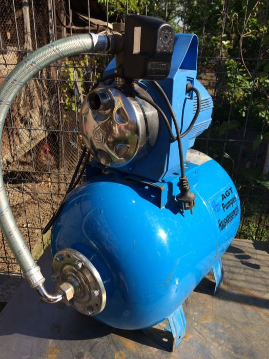 Hidrofor inox - Pompa apa INOX - bazin 50l Pentax italia GARANTIE