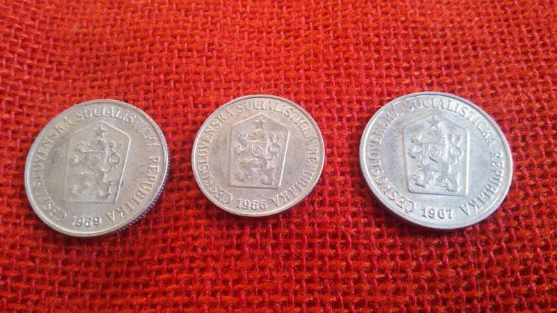 Чешки монети, 51 броя, емисии от 1962г. до 1969г., много запазени гр. Варна - image 6