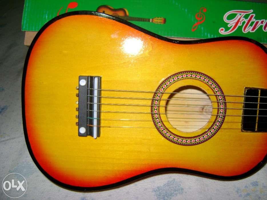 Chitara mica acustica pentru copii- produs nou Bucuresti - imagine 4