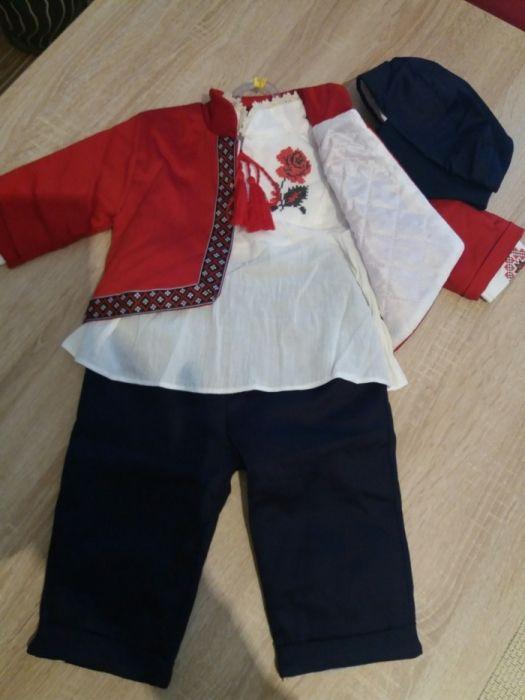 Costum de botez cu motive traditionale pt. sezonul rece.