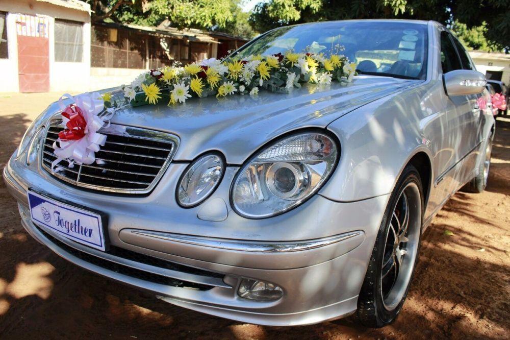 Aluguer de Viaturas Mercedez benz para Casamentos