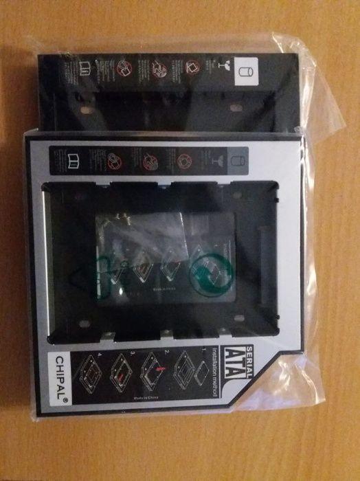 Caddy Rack Adaptor SSD/HDD 12.7mm