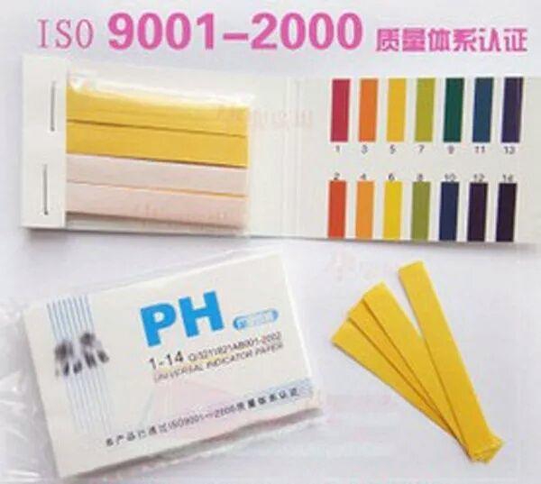 Ph метр, лакмусовая бумага, индикаторная бумага.