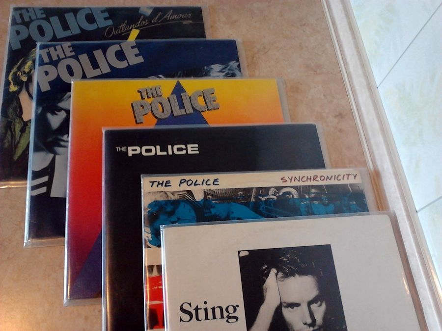 Виниловые пластинки - рок, поп музыка