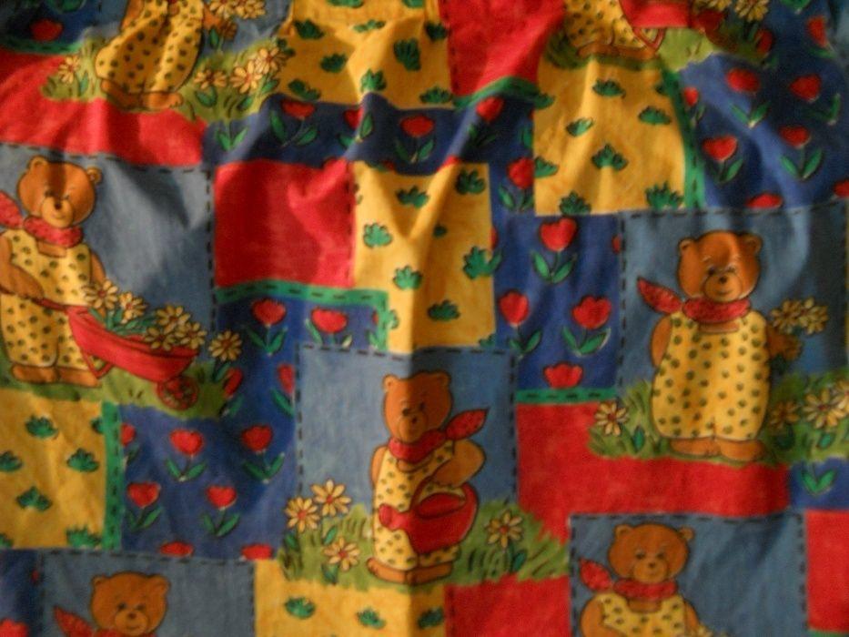 3draperii camera copii cu ursulet,bbc,cusute cu rejansa,1.21x1.68 buc