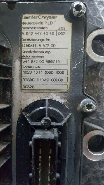 Calculator de motor EDC pentru mercedes actros MP 2 / MP 3