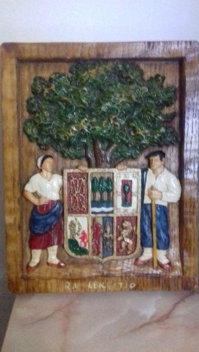 tablou ceramica din Spania