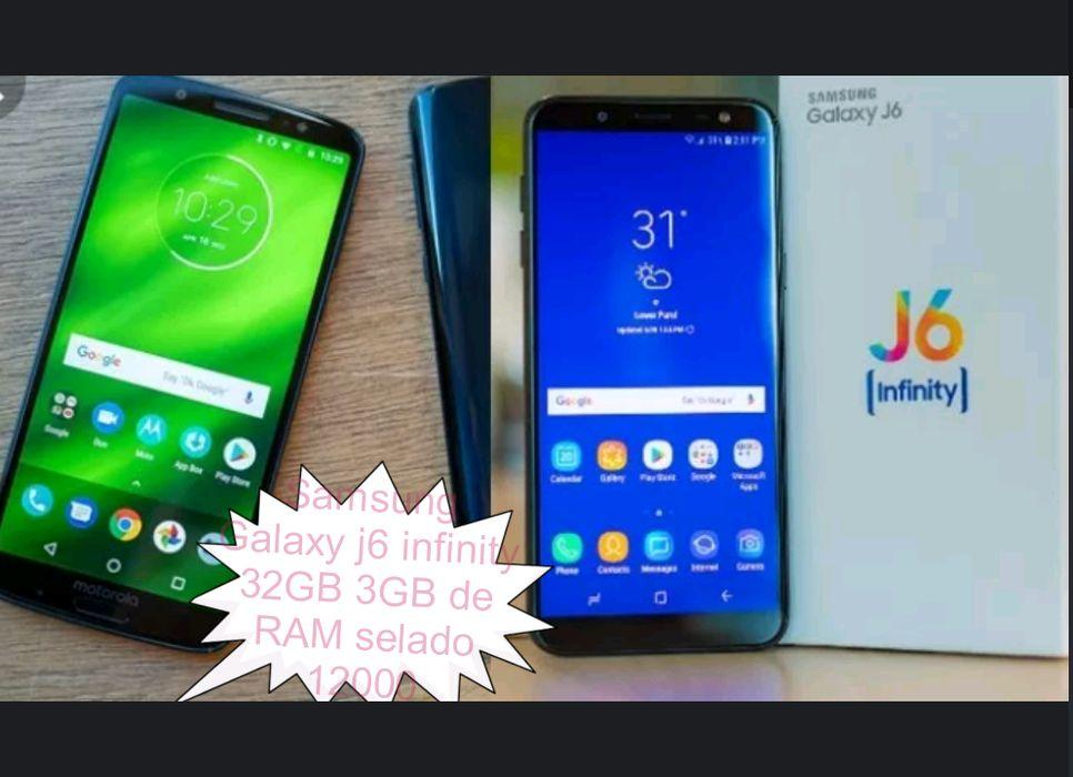 Celular Samsung Galaxy j6 infinity