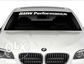 Код 37b. Бмв Performance стикер за преден или заден прозорец