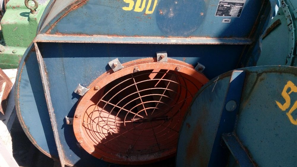 Турбинен вентилатор тип охлюв с шайба