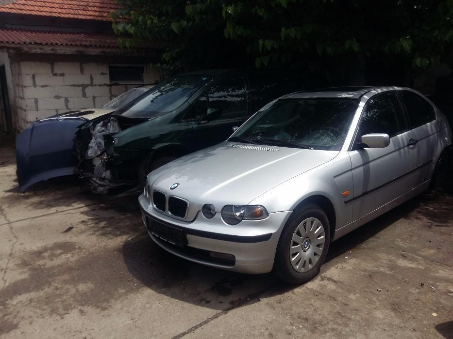 BMW Е46 316ti На Части