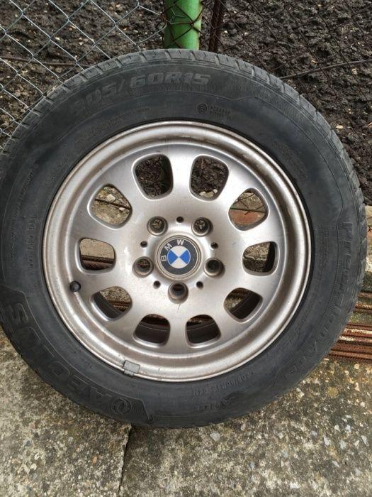 Джанти с летни гуми за BMW e46