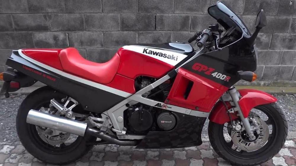 На части Kawasaki GPZ 400,на части Кавазаки ГПЗ
