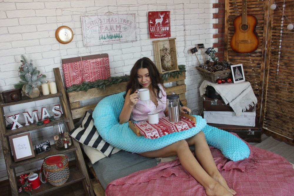 Подушка для беременных и кормящих Алматы - изображение 3
