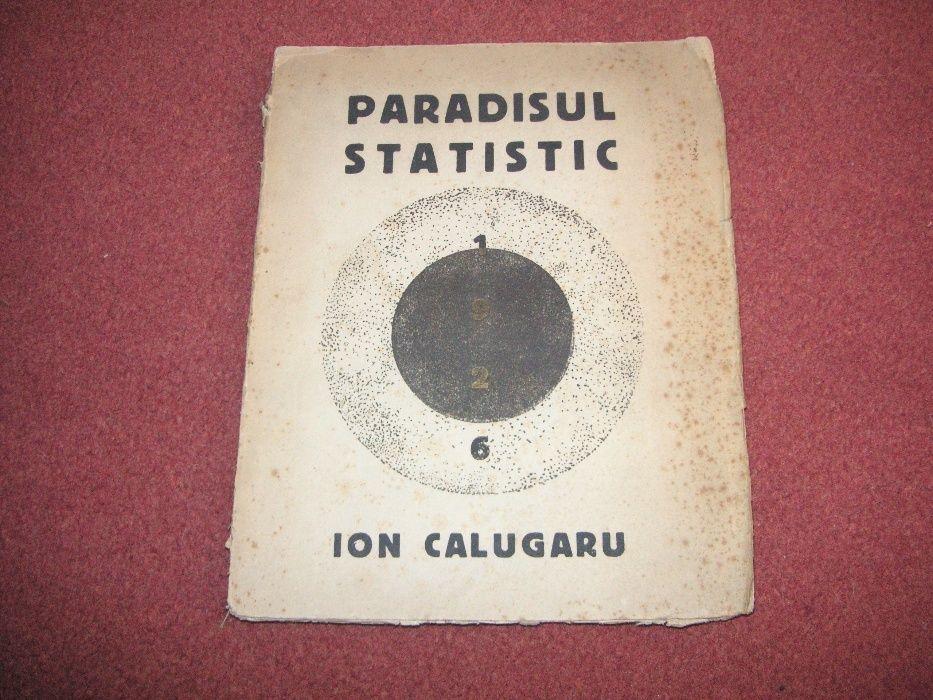 Ion Calugaru - Paradisul Statistic - (desene de M. H Maxy) - 1926