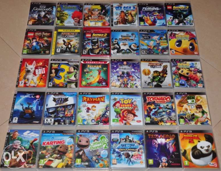Нови ps3,Детски списък.GTA,Marvel,lego,Ratchet,Rayman,spider,дис,batma