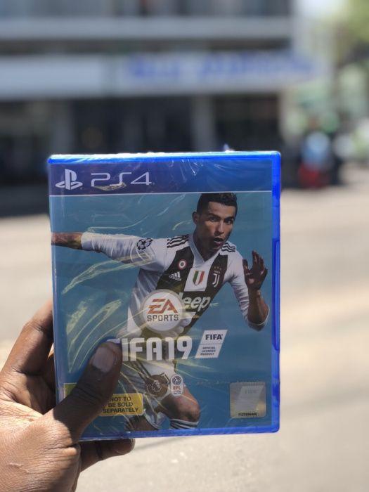 FIFA 19 para ps4 na caixa selado