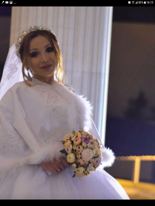 Прокат свадебное болеро еще карона сережки вместе 5000