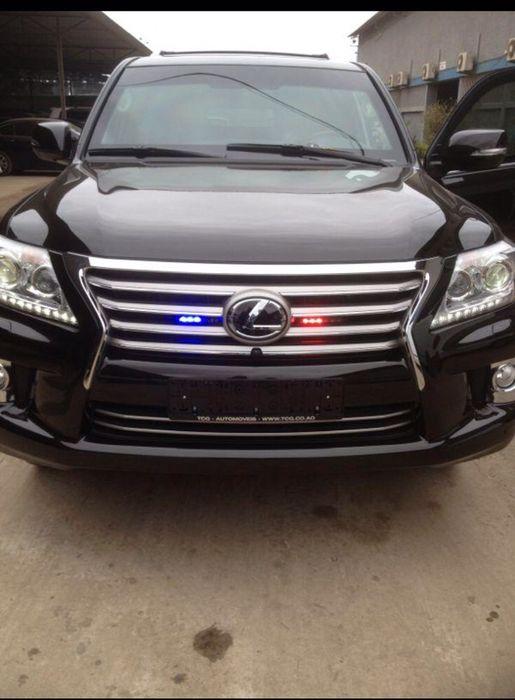 Lexus LX 570 blindado por 45 milhões de kwanza