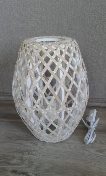 Настолни Лампи - винтидж стил /ратан/