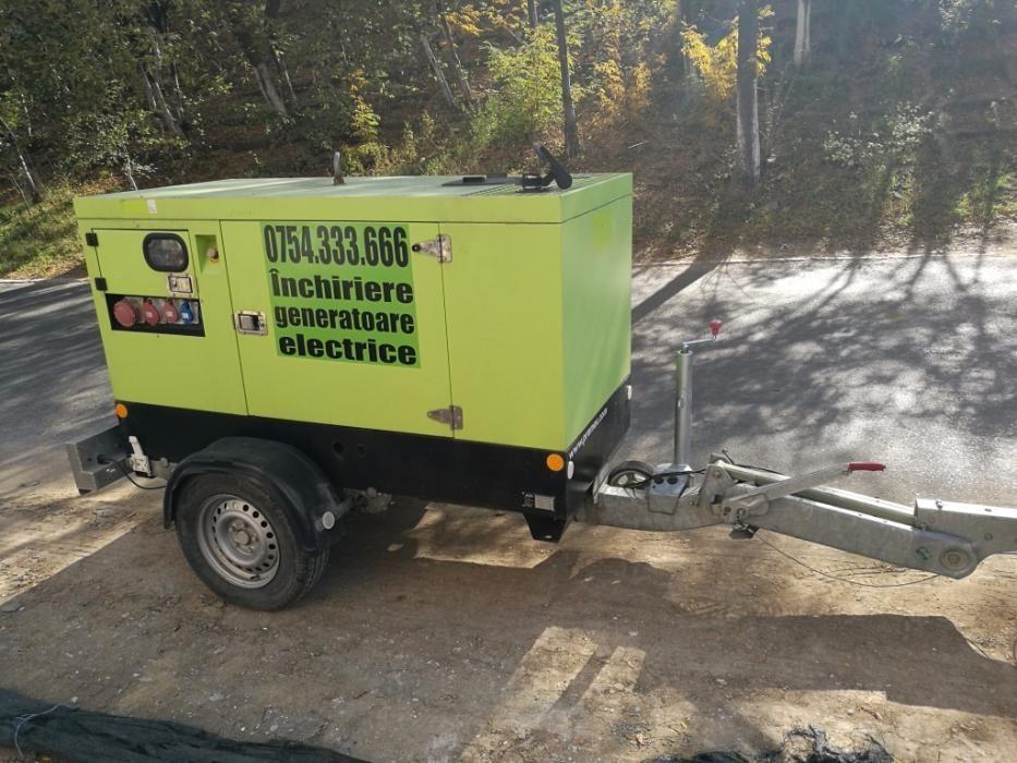 Inchiriere generator (grup electrogen) 40KVA (putere 32Kw) trifazic