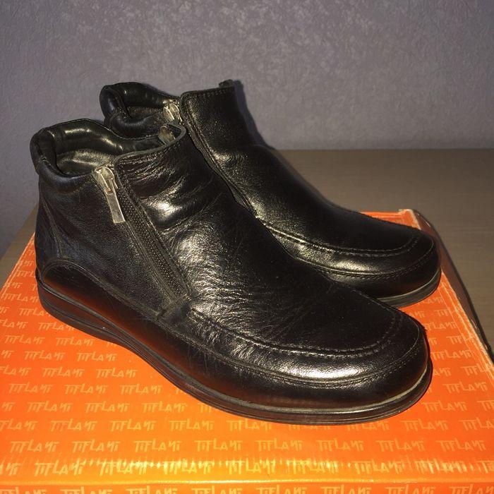 Продам НОВЫЕ, КОЖАНЫЕ, ТУРЕЦКИЕ, утеплённые осенние ботиночки!