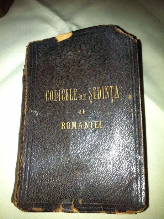 Codicele de Sedinta al Romaniei 1892