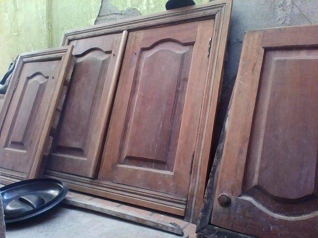 portas para armario de cozinha madeira