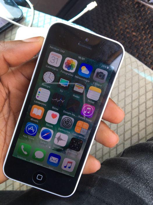 IPhone 5c 16gb com conta nas definições