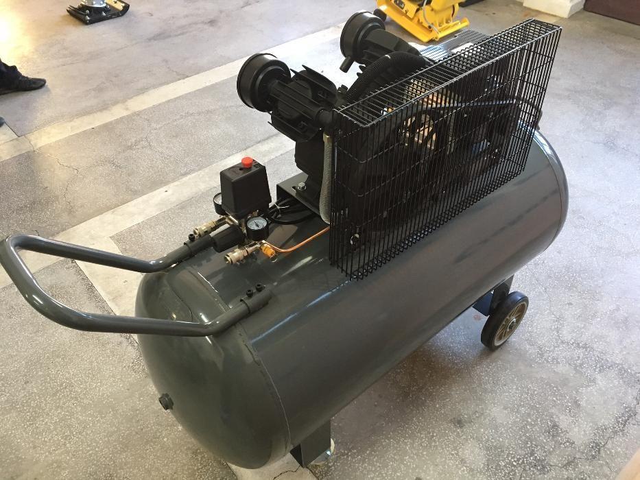 Compresor Aer Profesional Stager HMV 0.25/250, 2.2KW, 250L/min, 250L. Mogosoaia - imagine 2