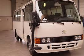 Venda e Aluguer Mini Autocarro Toyota Coaster 30 Lugares
