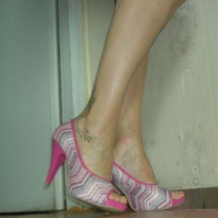 Дамски обувки с висок ток- пролет / есен- черни, розови, бели и жълти