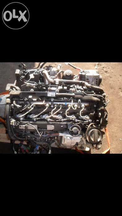 Motor bmw x6 4.0 d