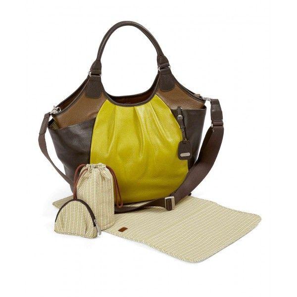 Бебешка стилна кожена чанта за количка от Mamas and Papas !!!