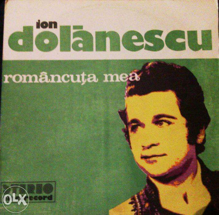 Vand 5 discuri vinil cu Ion Dolanescu