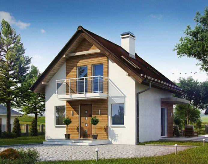 Kit casă lemn 110 mp