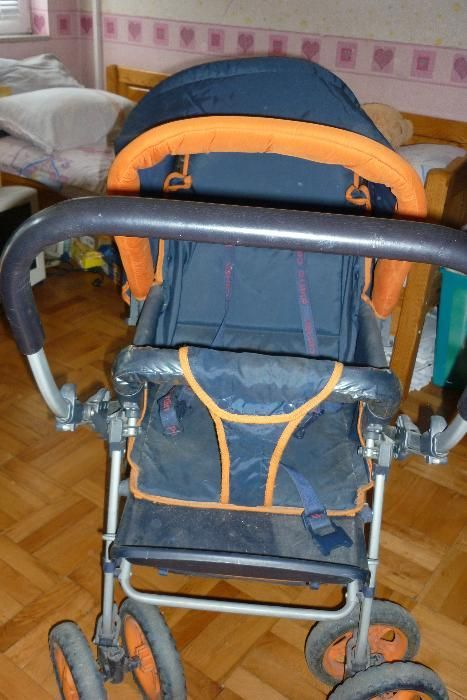 Продавам почти нова бебешка количка
