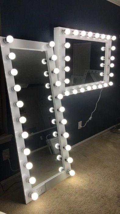 Огледало за грим с осветление
