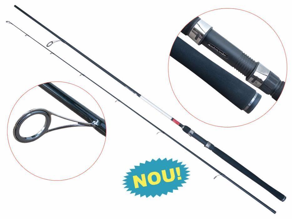 Lanseta fibra de carbon Baracuda Predator XP 2,10 m A: 12-40g