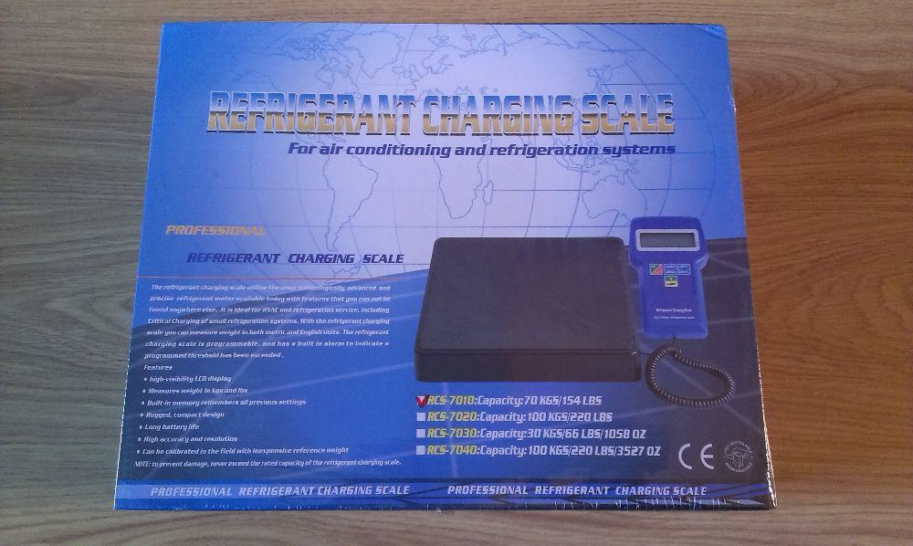 електронна везна/кантар до 100 килограма прецизен за фреон
