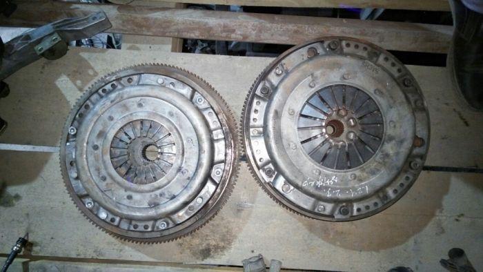 Маховик диск сцепления в сборе w124,201
