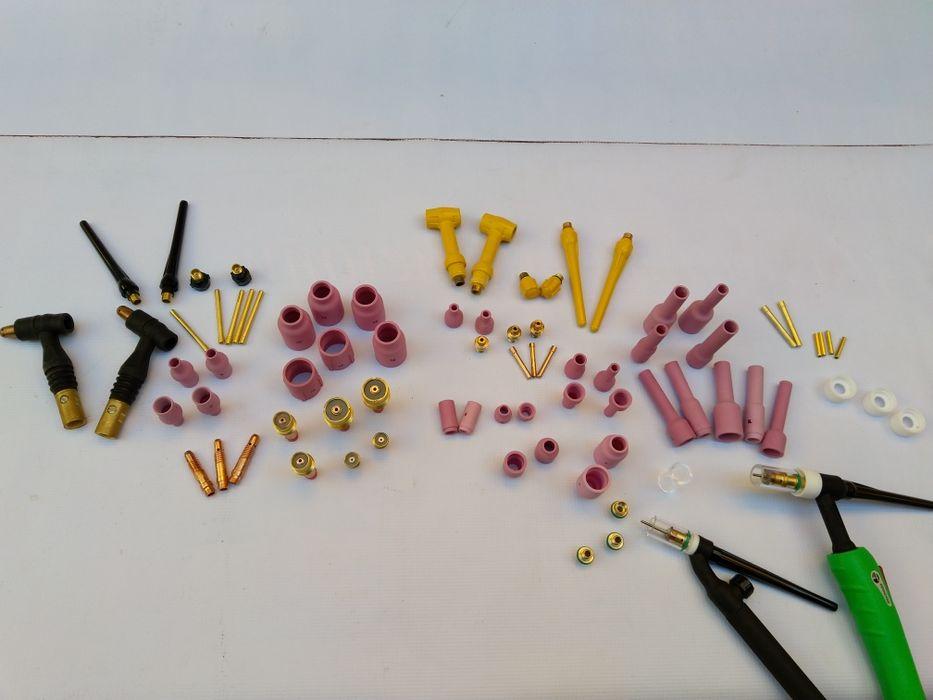 Тиг/Виг консумативи за аргонови шлангове.Дюзи стъклени и керамични гр. Пазарджик - image 1