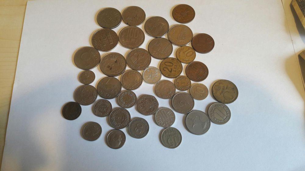 Colectie menede si bancnote vechi Buciumeni - imagine 1
