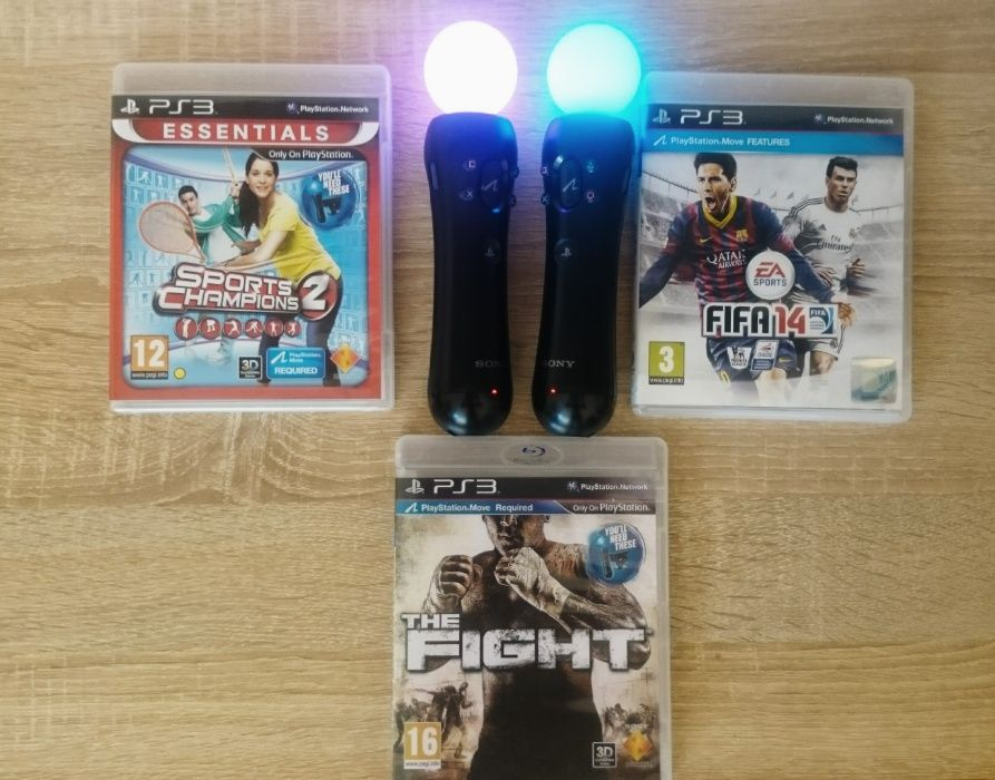 < PS3 Move > PlayStation Move Controller + Move Camera + игри