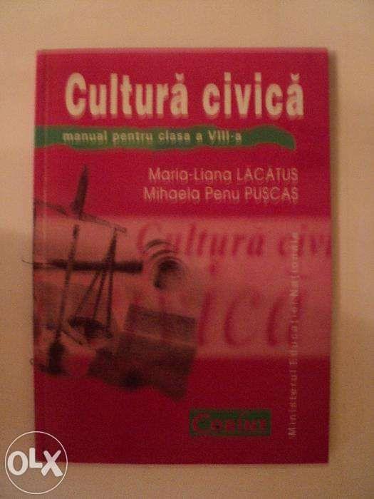 Manual cultura civica cls a VIII-a