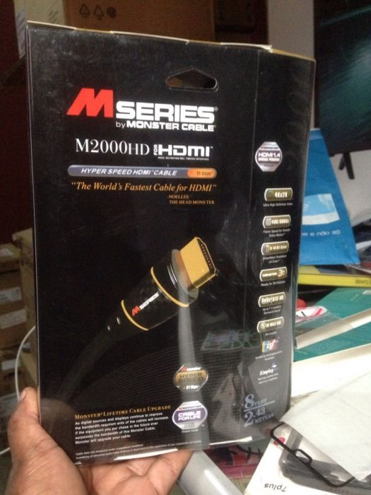 Cabo Hdmi series monster high quality 2metros