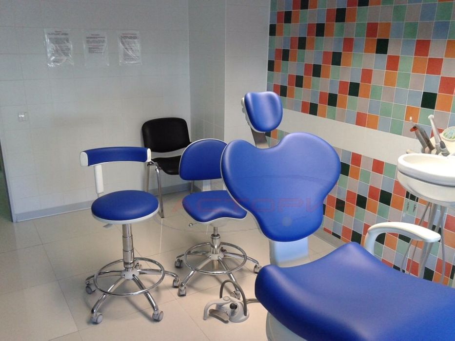 Стоматологическое кресло перетяжка