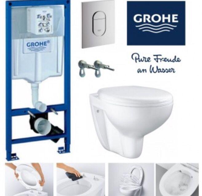 Комплект за вграждане Grohe Solido Rimless+ Безплатна доставка