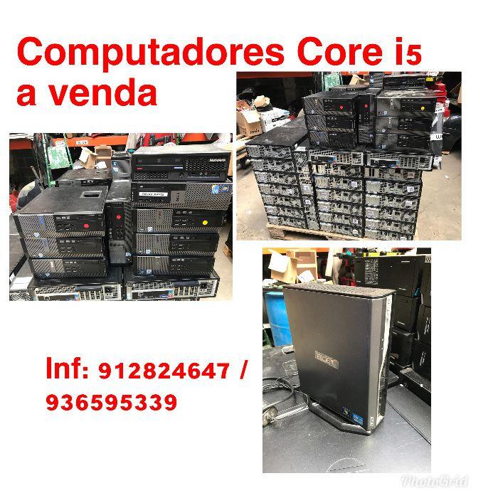Venda de Computadores core i5