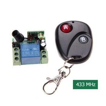 comutator actionat la 12 sau 220V cu telecomanda